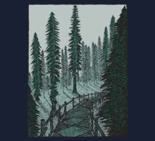 Carbon Canyon Redwood Grove Trail Kids Tee