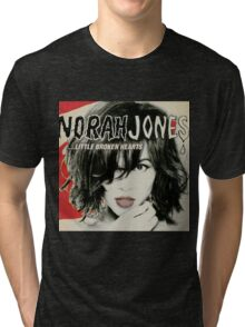 Norah Jones Little Broken Hearts Tri-blend T-Shirt