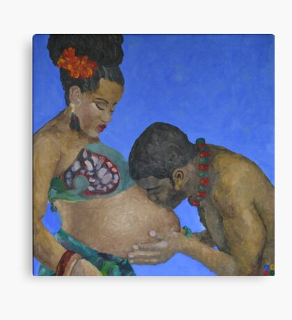 Fatherly Love Canvas Print