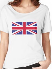 National flag of Great Britain Women's Relaxed Fit T-Shirt