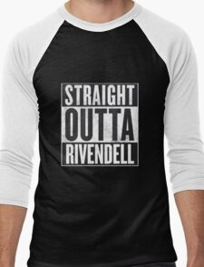 Straight Outta Rivendell Men's Baseball ¾ T-Shirt