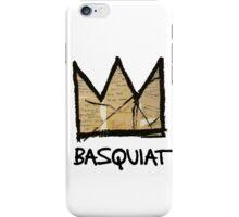 King Basquiat iPhone Case/Skin