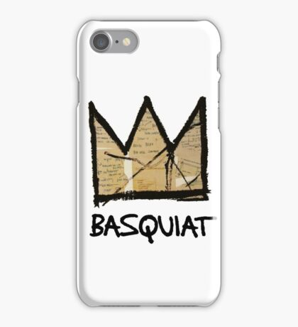 King Basquiat iPhone Case/Skin