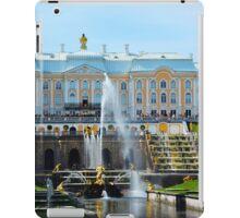 Peterhof Palace Grand Cascade, Russia iPad Case/Skin