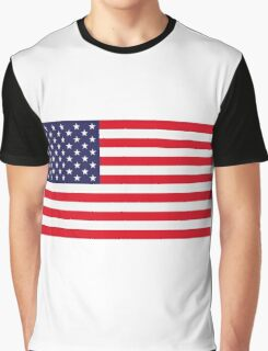 National flag of USA Graphic T-Shirt