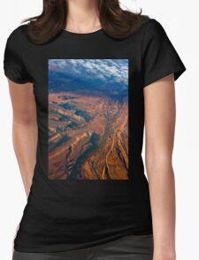 Leaving Utah Womens Fitted T-Shirt