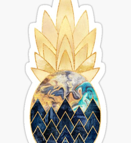 Precious Pineapple 1 Sticker