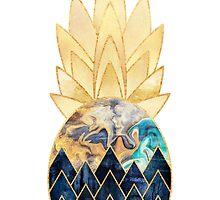 Precious Pineapple 1 by Elisabeth Fredriksson