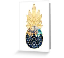 Precious Pineapple 1 Greeting Card