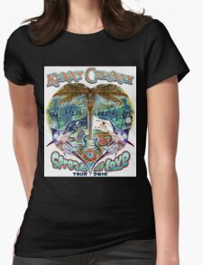KENNY CHESNEY TOUR 2016 SPREAD THE LOVE Womens Fitted T-Shirt