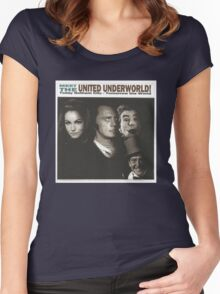 Meet the United Underworld Women's Fitted Scoop T-Shirt