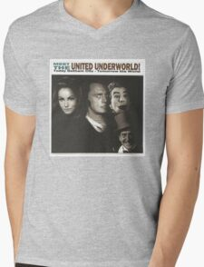 Meet the United Underworld Mens V-Neck T-Shirt