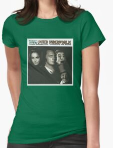 Meet the United Underworld Womens Fitted T-Shirt