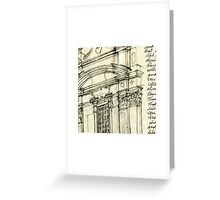 Complesso di San Firenze (white surround) Greeting Card
