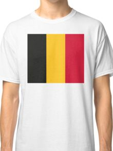 National Flag of Belgium Classic T-Shirt