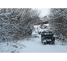 Snow Rover  Photographic Print
