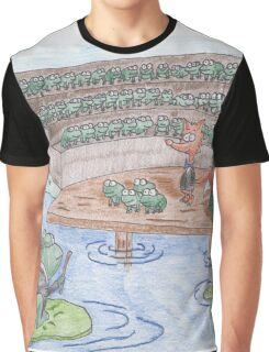 Reddy Fox and the Frog Chorus Graphic T-Shirt