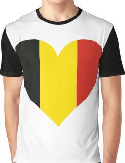 A heart for Belgium Graphic T-Shirt