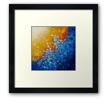 Element WATER print by Deb Breton  Framed Print