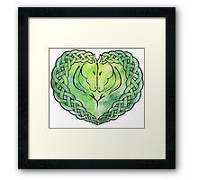 Rohan Love Knot Framed Print