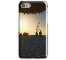 Cuban Beach Sunset iPhone Case/Skin
