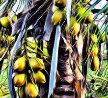 Coconut Tree Sticker