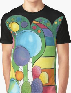 The Lollipop Forest Graphic T-Shirt