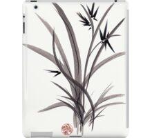 TRUST IN JOY - Original Sumie Ink Wash Zen Bamboo Painting iPad Case/Skin