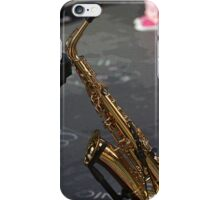Sax in the mall iPhone Case/Skin