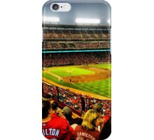 Texas Rangers baseball. iPhone Case/Skin
