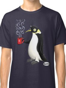 Penguin with hot coffee Classic T-Shirt