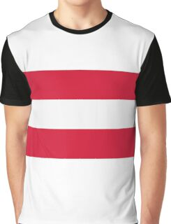 National Flag of Austria Graphic T-Shirt