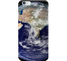 Full Earth showing Europe and Asia iPhone Case/Skin