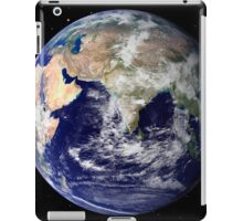Full Earth showing Europe and Asia iPad Case/Skin
