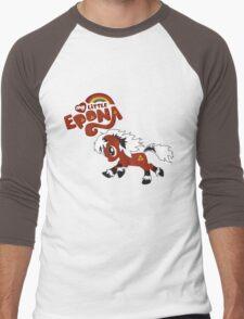 My Little Epona Men's Baseball ¾ T-Shirt