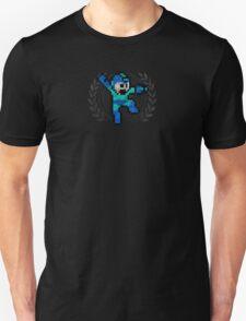 Mega Man - Sprite Badge Unisex T-Shirt