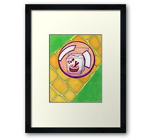How Chinese Food is Delivered in Oz Framed Print