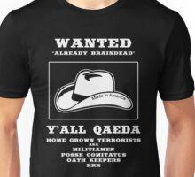 Wanted -- Y'All Qaeda Unisex T-Shirt