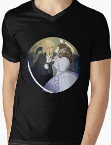 As the World Falls Down. Mens V-Neck T-Shirt
