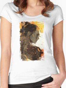 Rey in the sand Women's Fitted Scoop T-Shirt
