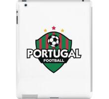 Football crest of Portugal iPad Case/Skin