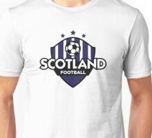 Football emblem of Scotland Unisex T-Shirt