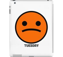 Tuesday Emoji (#2) iPad Case/Skin