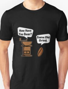 Coffee Bean Grinder Unisex T-Shirt