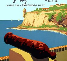 Vintage Discover Puerto Rico WPA by pdgraphics