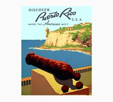 Vintage Discover Puerto Rico WPA T-Shirt