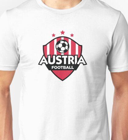 Football emblem of Austria Unisex T-Shirt