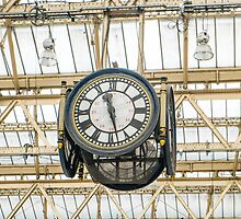 Clock London Waterloo Station by Martin Berry Photography