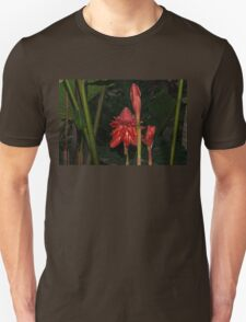 Red Torch Ginger Lily - Glossy, Exotic and Wonderful T-Shirt
