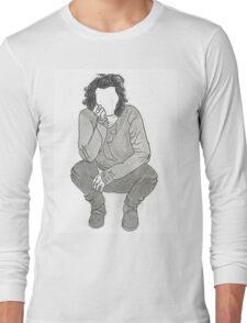 Harry Styles - Kneeling Down Long Sleeve T-Shirt